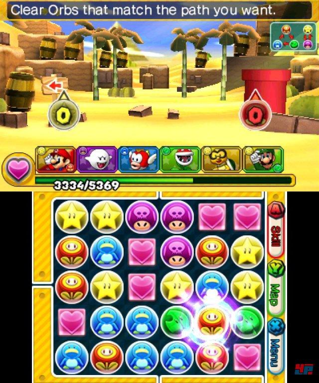 Screenshot - Puzzle & Dragons Z   Puzzle & Dragons Super Mario Bros. Edition (3DS) 92504367