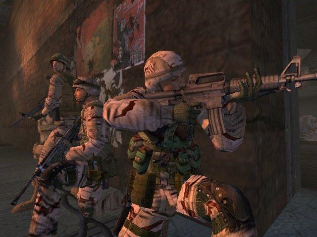5. Full Spectrum Warrior (2004) <br><br> Bei Destroy All Humans zeigte Pandemic seine humorvoller Seite. Hier wurde es dagegen bitterernst: Full Spectrum Warrior gilt auch heute noch bei vielen Spielern als die ultimative Militärsimulation. Kein Wunder, bildete die Basis doch ein Trainingsprogramm für Soldaten der US Army. Vor allem kooperativ war das Spiel eine Taktik-Granate mit einer packenden Atmosphäre. 92443152