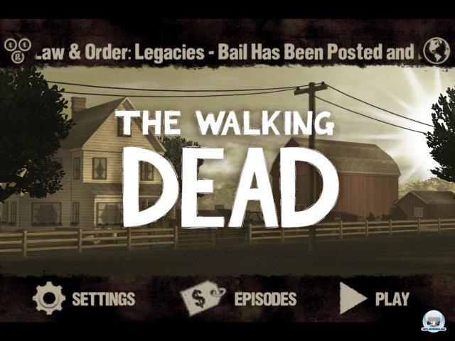 Screenshot - The Walking Dead (iPad) 2379077