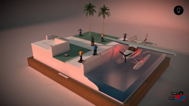 Screenshot - Hitman Go (PlayStation4)
