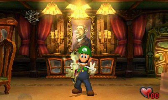 Screenshot - Luigi's Mansion (3DS)