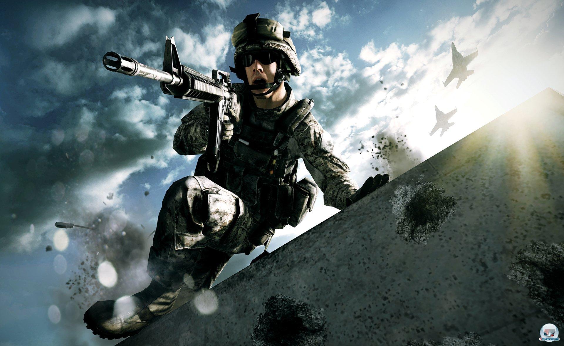 Die neuen Animationen lassen die virtuellen Soldaten enorm realistisch wirken.