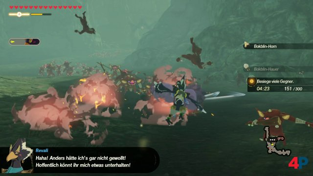 Screenshot - Hyrule Warriors: Zeit der Verheerung (Switch) 92629196