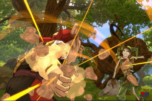 Die nahtlos eingebundenen Kämpfe sollen ähnlich variantenreich ablaufen wie in einem Prügelspiel.