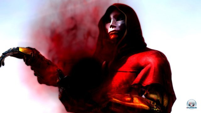 Was hat dieser finstere Maskenträger mit Ryu Hayabusa vor?