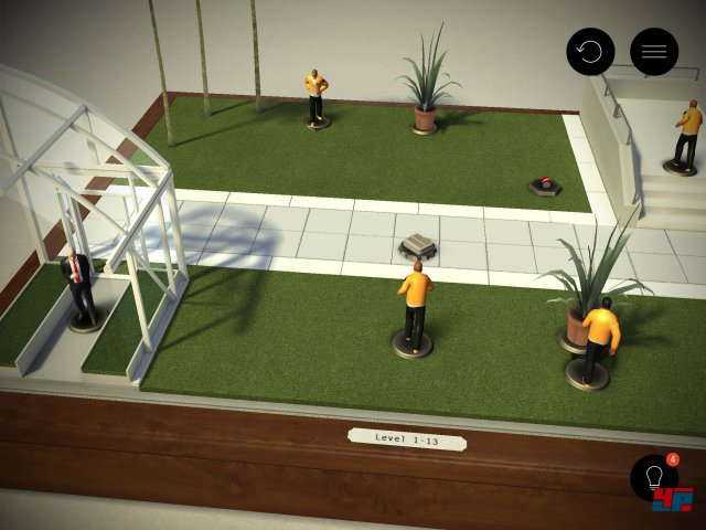 Screenshot - Hitman Go (iPad) 92481438