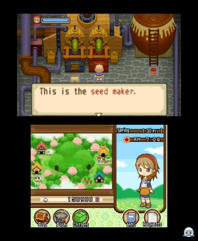 Screenshot - Harvest Moon: The Tale of Two Towns (3DS) 2232302
