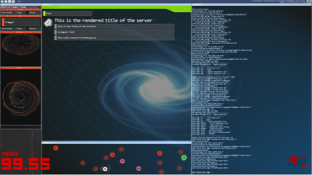 Screenshot - Hacknet (Linux)