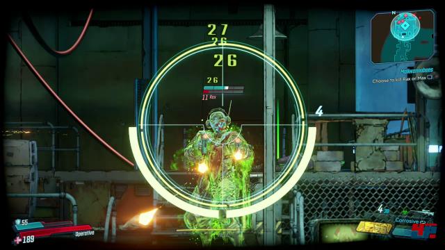 Manche Waffen haben einen zweiten Feuermodus, es gibt neue Elementarschäden und zusätzliche Möglichkeiten, das alles zu kombinieren: Der taktische Umfang nimmt mal wieder zu.