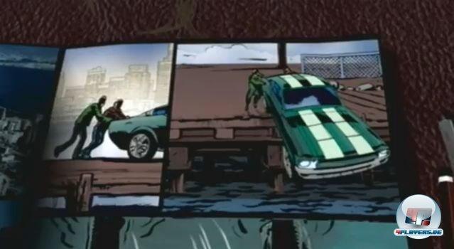 Die Zwischensequenzen sind im Comic-Stil angelegt - auf dem 3DS sogar teilweise interaktiv.