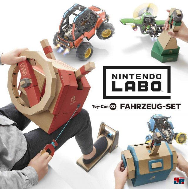 Screenshot - Nintendo Labo: Toy-Con 03: Fahrzeug-Set (Switch)