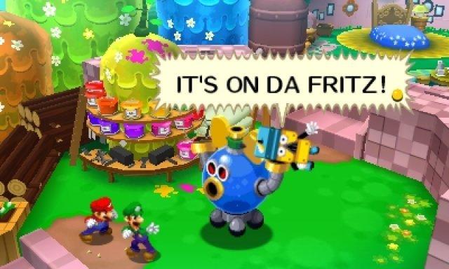 Screenshot - Mario & Luigi: Dream Team Bros. (3DS) 92462425