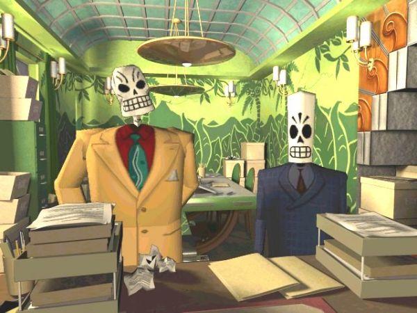 Grim Fandango<br><br>1998 war die Zeit klassischer 2D-Adventures (vorläufig) vorbei, die Leute schrien im Lichte der immer besser aussehenden Ego-Shooter und funkelnder 3D-Karten nach Dreidimensionalität um jeden Preis - selbst das ein Jahr zuvor veröffentlichte Monkey Island 3 war kommerziell nicht so erfolgreich wie gedacht. Also nutzte Lucas Arts erstmals die Z-Achse, das Resultat war Grim Fandango - das von den Fans zwiespältig aufgenommen wurde. Gelobt wurde das herrlich bizarre Szenario, die liebenwert-bekloppten Figuren, die toll erzählte Story; kurz alles, was die Adventures aus der Hand von Altvater Tim Schafer auszeichnet. Auf der anderen Seite wurde gerade die höchst unpräzise Tastatursteuerung heftig kritisiert - das Spiel wurde symptomatisch für den Niedergang des Genres, der sich konsequenterweise darin äußerte, dass das zwei Jahre danach veröffentliche Monkey Island 4 unter den gleichen Problemen litt und kommerziell ebenso floppte wie die Abenteuer von Manny Calavera. Das Adventure war ein Genre non grata, damit ließ sich kein Geld mehr verdienen - jedenfalls bis... 1718666