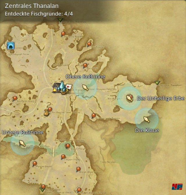 Final Fantasy XIV Online: A Realm Reborn - Fischgründe: Thanalan, Zentrales Thanalan