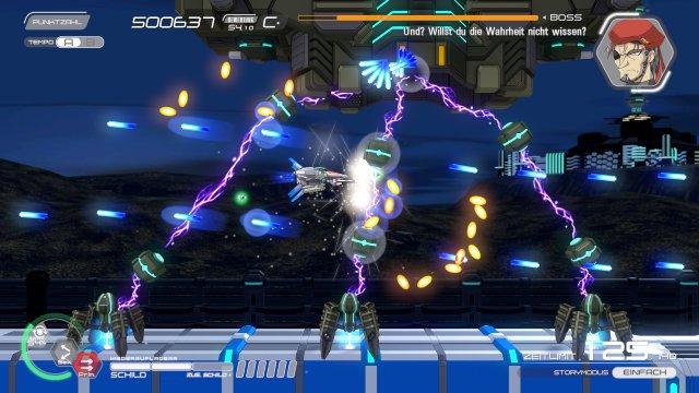 Spaßiger Bosskampf: Leider agieren die wenigsten Levelwächter so einfallsreich wie dieser Geselle.