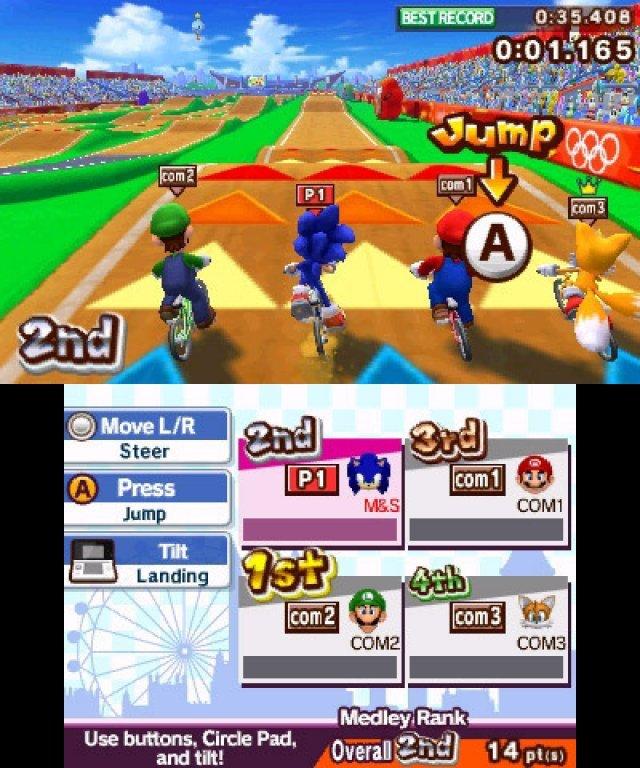 Screenshot - Mario & Sonic bei den Olympischen Spielen: London 2012 (3DS) 2304932