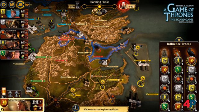Screenshot - A Game of Thrones: The Board Game - Digital Edition (PC)