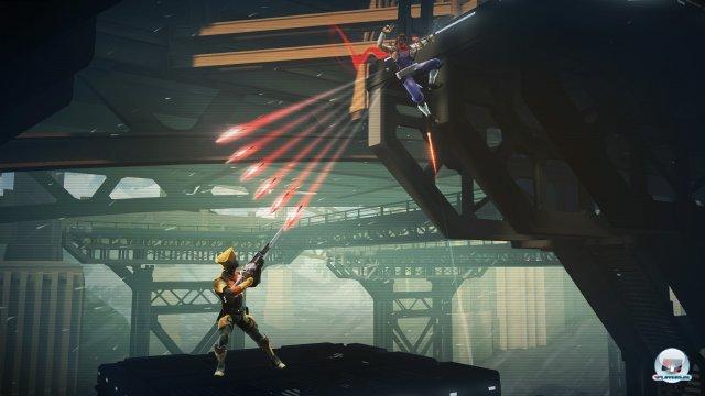 Hiryu kann seine Gegner aus allen Lebenslagen angreifen.