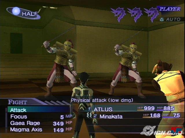 2004 erschien dank Atlus USA Shin Megami Tensei 3: Nocturne auch in Nordamerika und Europa für die PS2.