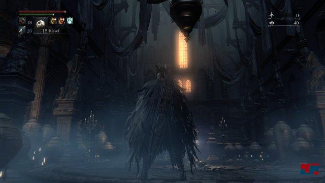 Zunächst scheint alles wie gehabt, aber das ändert sich bald. Screenshot - Bloodborne (PlayStation4)