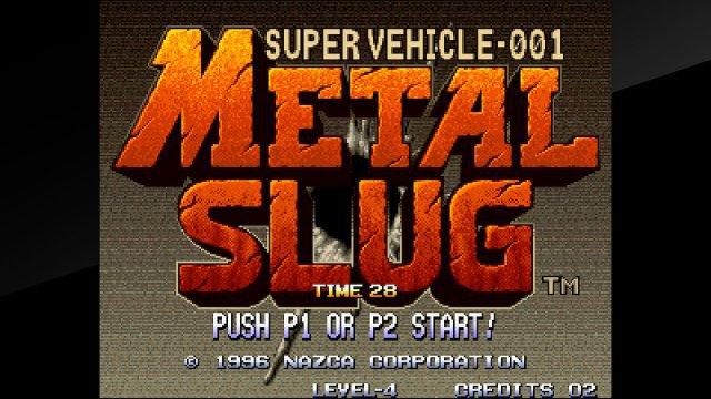 Screenshot - Metal Slug: Super Vehicle-001 (Switch)