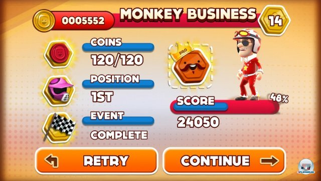 Screenshot - Joe Danger Touch (iPhone) 92439332