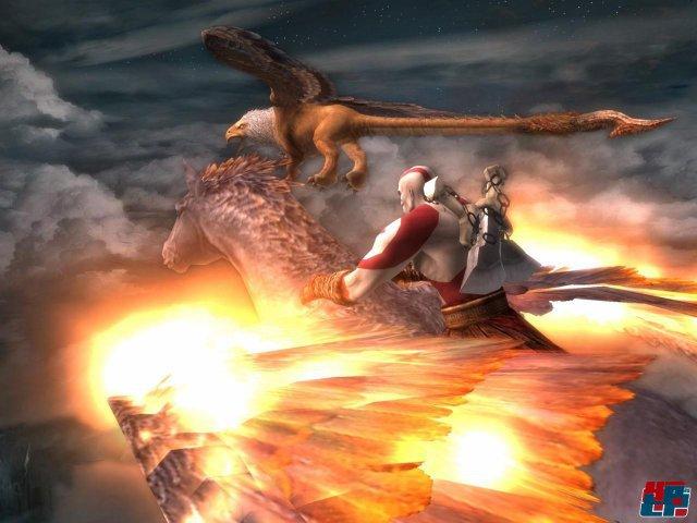 God of War 2 bewies 2007 eindrucksvoll, wozu die alternde PS2 technisch in der Lage war.