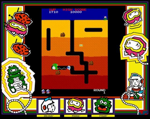 """Ähnlich wie bei Nintendos Wario oder Waluigi handelt es sich auch beim Namen des Dig-Dug-Bergmanns """"Taizo Hori"""" übrigens um ein Wortspiel. Der Ausdruck """"Horitai zo"""" heißt so viel wie """"Ich will graben!"""""""