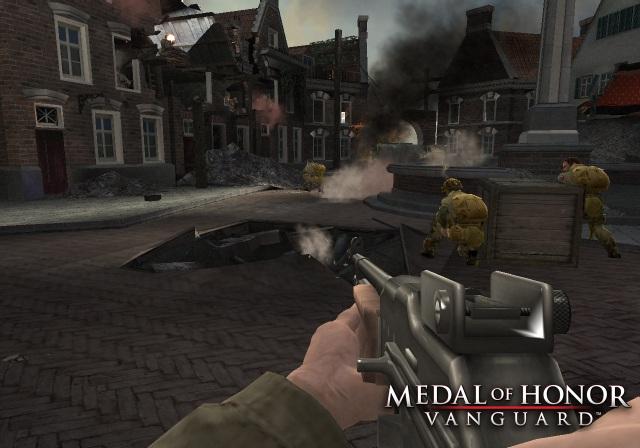 Medal of Honor: Vanguard (2007) <br><br> Als kleinen Vorgeschmack auf den Airborne-Ableger konzentrierte man sich bei diesem PS2- und Wii-Spiel bereits auf die 82. US-Luftlandedivision, mit der man es ab 1943 gegen die Deutschen aufnimmt. Schauplätze sind u.a. Sizilien, Frankreich sowie Holland. Besonderheit: Man durfte den Startpunkt in den Levels hier selbst beim Absprung wählen, um sich dadurch einen taktischen Vorteil zu verschaffen. 2167448