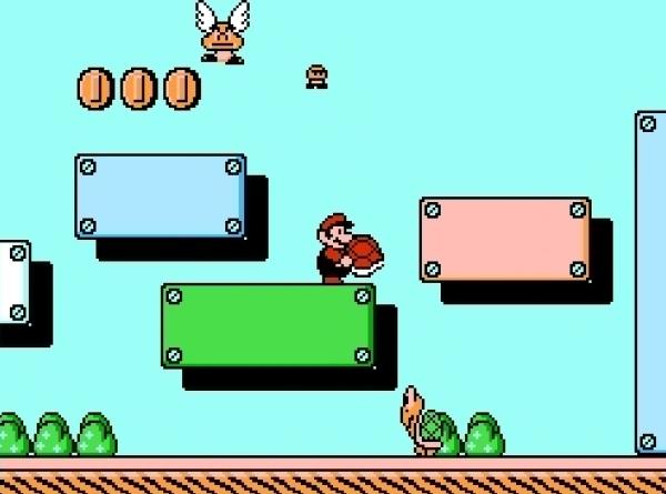 Super Mario Bros 3 (1988)<br><br>1988 waren die Tage des NES eigentlich schon gezählt: Segas Mega Drive läutete das 16Bit-Zeitalter ein, Nintendos SNES stand in den Startlöchern. Aber wie sagt der weise Mann? »Je später der Abend, desto schöner die Gäste« - in Videospielisch übersetzt »Je älter die Konsole, desto gereifter die Spiele«. Und sehr viel gereifter als Super Mario Bros 3, das übrigens erst zwei Jahre später in den USA bzw. nochmal ein Jahr darauf auch endlich in Europa einschlug, ging es kaum: Acht gigantische Welten, die unzählige, nicht-linear angeordnete, thematisch höchst unterschiedliche Levels beinhalteten, abwechslungsreiche Zwischen- und Endgegner, diverse Kostüme für Mario, die ihm frische Eigenschaften verliehen, etliche versteckte Goodies, Warpflöten, eine für damalige Zeiten unbeschreibliche Technik - kein Wunder, dass sich dieses Spiel nicht nur mehr als 18 Millionen mal verkauft hat, sondern auch in nahezu jeder Auflistung der besten Spiele aller Zeiten findet! Und nicht zuletzt sorgte es indirekt dafür, dass wir heutzutage großartige Shooter spielen dürfen: Die technische Brillanz von SMB 3 inspirierte John Carmack, Tom Hall und John Romero zu Commander Keen - und wohin dieses Spiel geführt hat, dürfte wohl jeder Fan von id Software wissen... 1724678