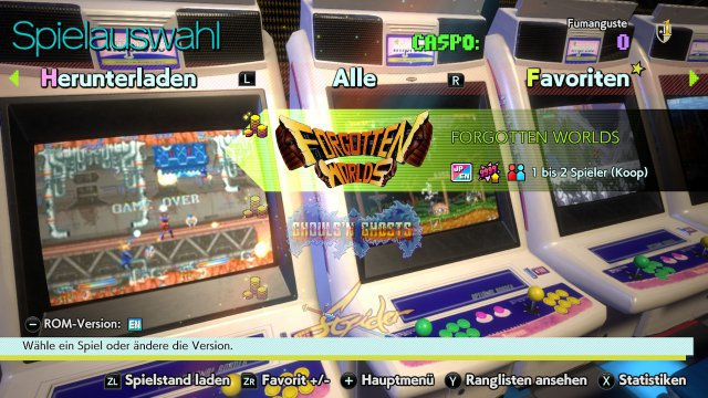 Screenshot - Capcom Arcade Stadium (Switch) 92635188