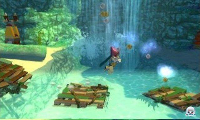Screenshot - Lego Legends of Chima: Laval's Journey (3DS)