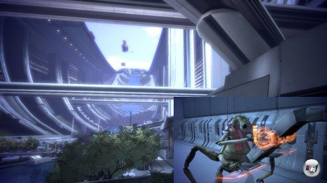 <br><br>Um Saren aufzuhalten, zischt Shepard nach Ilos, findet dort allerdings nur noch Ruinen vor - sowie ein Jahrtausende altes Hologramm, das ihn darüber informiert, dass die Portale von den Reapern errichtet wurden und dass die Hauptstadt Citadel selbst ein gigantisches Portal ist, das die Reaper als Einfalltor nutzen, um unliebsame Welten schnell und unkompliziert zu vernichten. Was sie regelmäßig tun, sobald sich eine Zivilisation weit genug entwickelt hat. 2051268