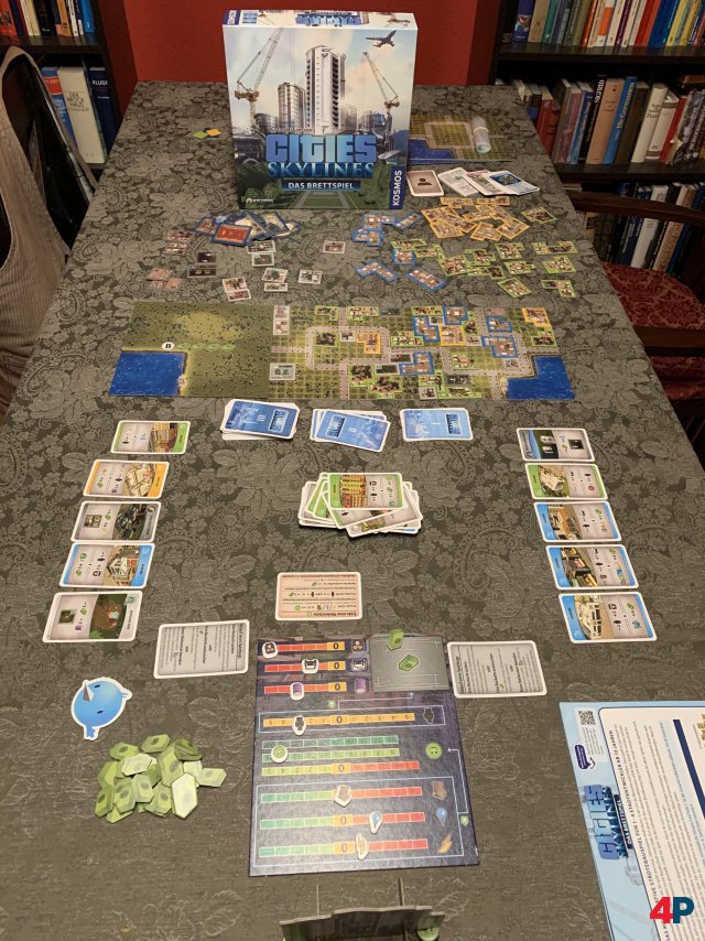 Cities Skylines - Das Brettspiel ist auf Deutsch für knapp 35 Euro bei Kosmos erschienen.