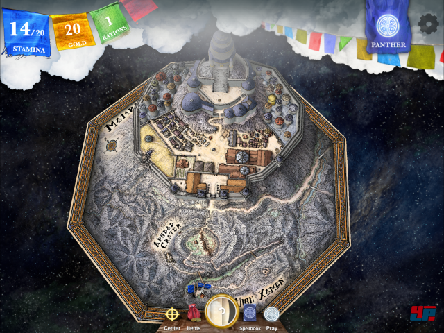 Screenshot - Sorcery! 4- The Crown of Kings (iPad) 92535346