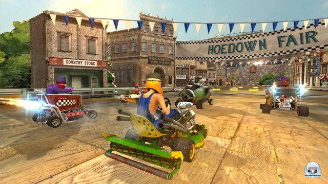 Screenshot - Jimmie Johnson's Anything with an Engine (PlayStation3) 2227083