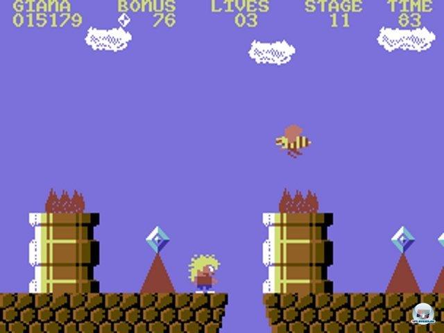 Plagiat! Frechheit! Im Jahr 1987 erklagte Nintendo das Verkaufsverbot von The Great Giana Sisters. Der deutsche Plattformer von Armin Gessert, Manfred Trenz und Hendrik Nordhaus sah Super Mario Bros einfach zu ähnlich. Die Spieler kümmerte das herzlich wenig: Auf den Schulhöfen verbreitete sich die Kopie in Nullkommanichts und avancierte zu einem der bekanntesten C64-Titel überhaupt. Ein Grund für die Beliebtheit war der tolle Soundtrack von Chris Hülsbeck. Weitere Jump-n-Run-Klassiker sind z.B. das skurrile Monty on the Run oder die Umsetzungen von Bubble Bobble und Ghosts 'n Goblins. 2372467