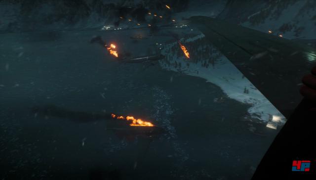 Mit einem Absprung über der Küste beginnt diese Große Operation, der Kampf um das norwegische Narvik.