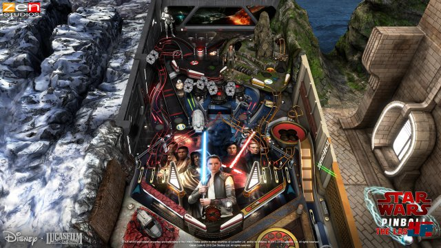 Screenshot - Star Wars Pinball: The Last Jedi (PC)
