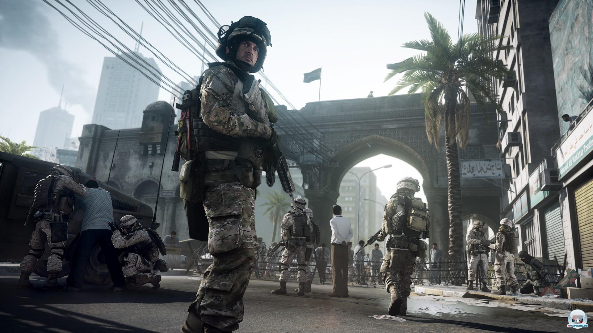 Die Frostbite 2-Engine befeuert nicht nur exzellent aussehende Levels, auch die Soldaten selbst sehen fantastisch aus - und bewegen sich hervorragend.