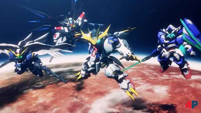 Screenshot - SD Gundam G Generation Cross Rays (PC)