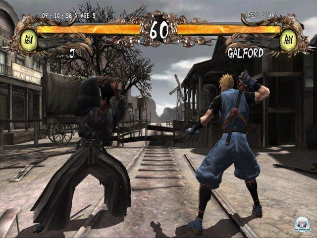 Das ist kein absichtlich reingeschmuggelter Screenshot aus dem Jahr 2000 - Samurai Shodown Sen sieht wirklich so aus.