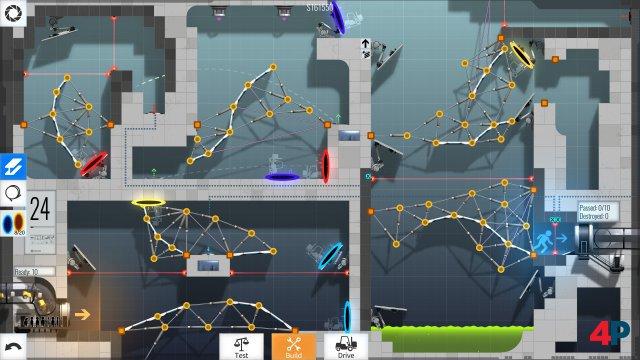 Screenshot - Bridge Constructor Portal - Portal Proficiency (Android)