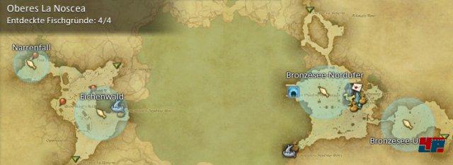 Final Fantasy XIV Online: A Realm Reborn - Fischgründe: La Noscea, Oberes La Noscea