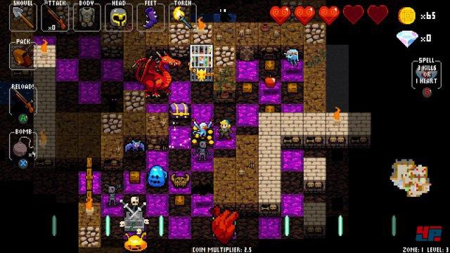 Screenshot - Crypt of the NecroDancer (One)