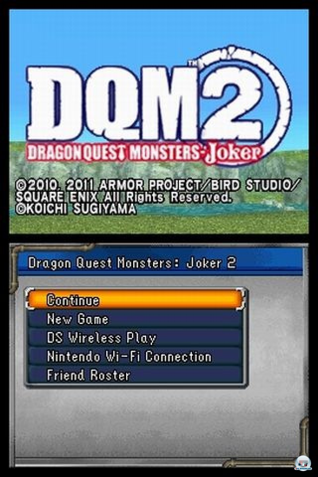 Screenshot - Dragon Quest Monsters: Joker 2 (NDS)