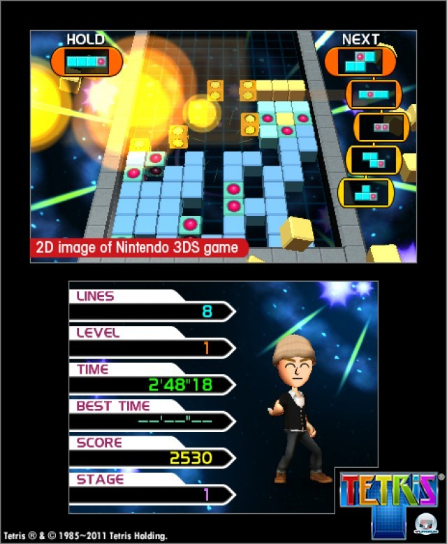 Screenshot - Tetris (3DS)