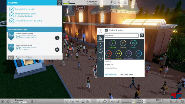 Screenshot - RollerCoaster Tycoon World (PC) 92537630