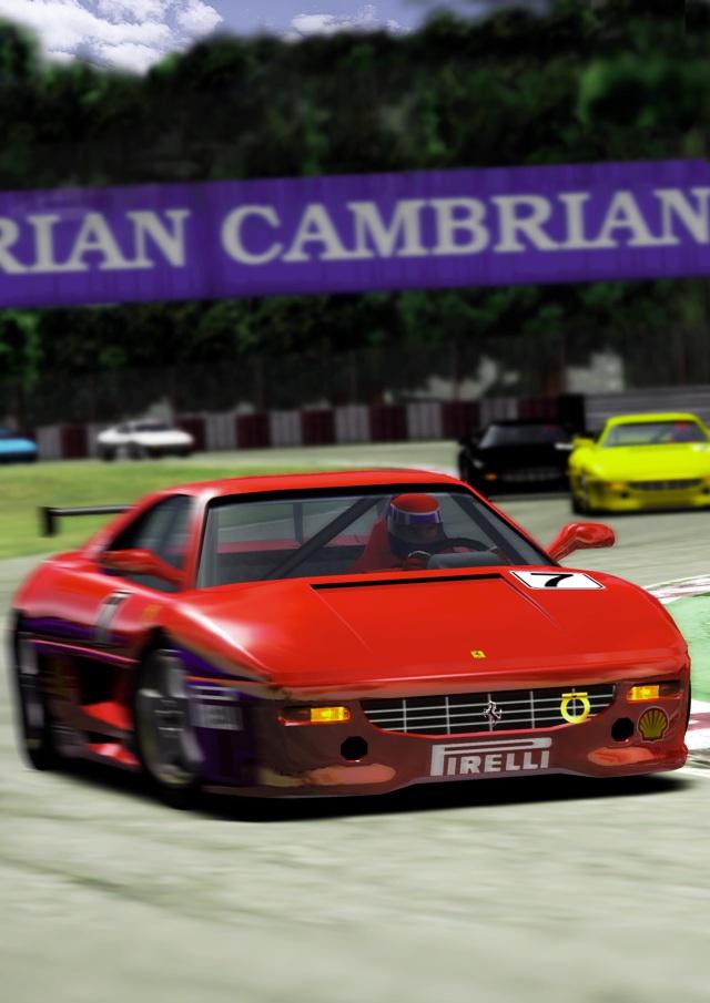 <br><br>Segas Wurzeln liegen bekanntlich in der Spielhalle. Nach Outrun sorgte ein weiterer Racer-Automat für besonders viel Aufsehen: F355 Challenge, in dem man sich hinter das Steuer des Ferraris klemmte und auf lizenzierten Pisten wie Monza und Suzuka um den Sieg fuhr. Auf Dreamcast lieferte Yu Suzuki mit seinem AM2-Team eine perfekte Umsetzung des Vorbilds ab und erweiterte diese sogar noch um ein paar weitere Strecken und Modi. Der anspruchsvolle Arcade-Racer kann sich selbst heute noch sehen und hören lassen - vor allem der kernige Motorsound des virtuellen F355 lässt Autoherzen höher schlagen... 2068238