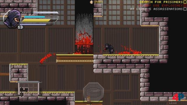 Screenshot - Pixel Shinobi: Nine demons of Mamoru (PC) 92594171